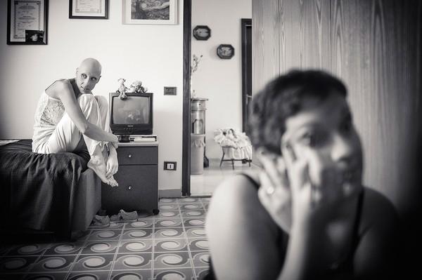 Cô dâu bị ung thư đẹp ngỡ ngàng trong ngày cưới 6