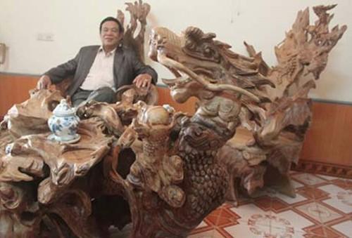 Những 'cục gỗ' tiền tỷ của đại gia Việt 2