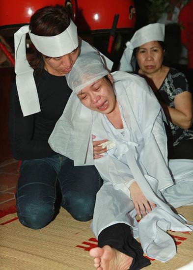 Việt Hương đau đớn vì mẹ mất đột ngột 2