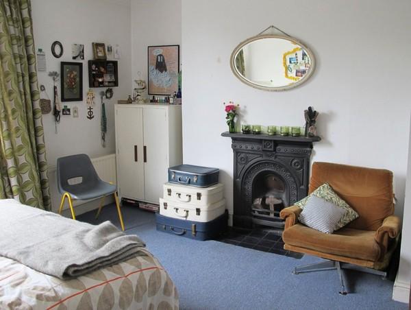 Ngắm căn hộ vintage đẹp như mơ nhờ tận dụng đồ cũ 20