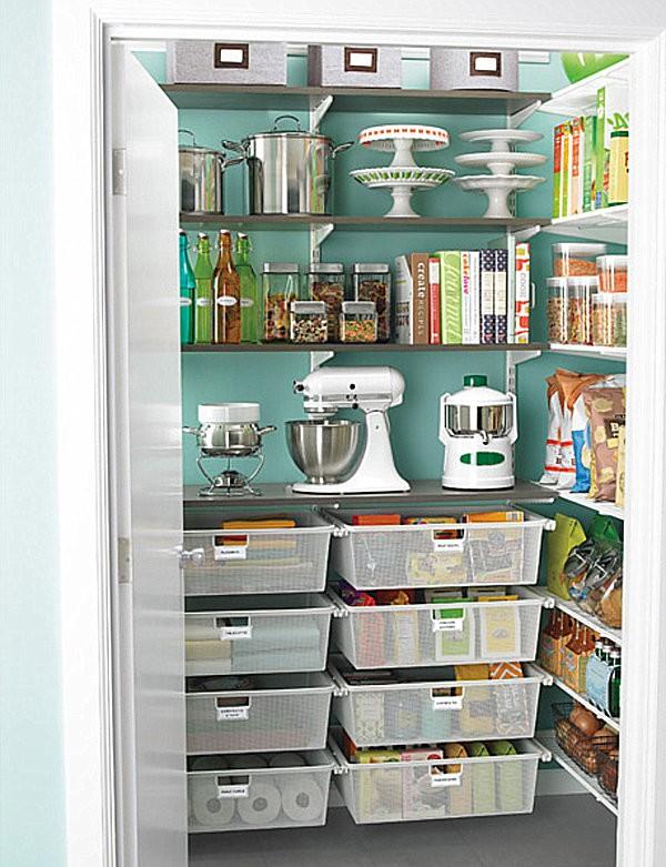 Mẹo sắp xếp tủ lưu trữ thực phẩm ngăn nắp đón Tết 5