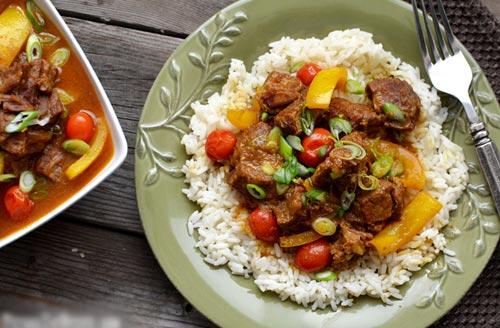 Thịt bò hầm nước cốt dừa 1