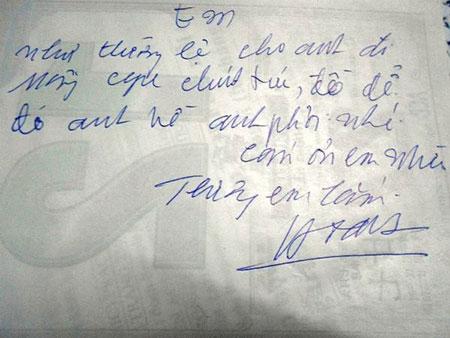Những bức thư tình của người chồng khiến phụ nữ ước ao 1
