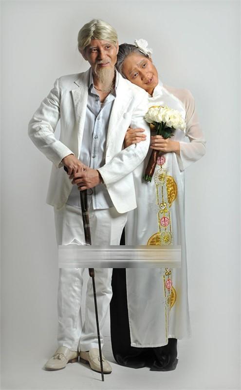 Ảnh cưới độc đáo của các cặp vợ chồng sao Việt 11