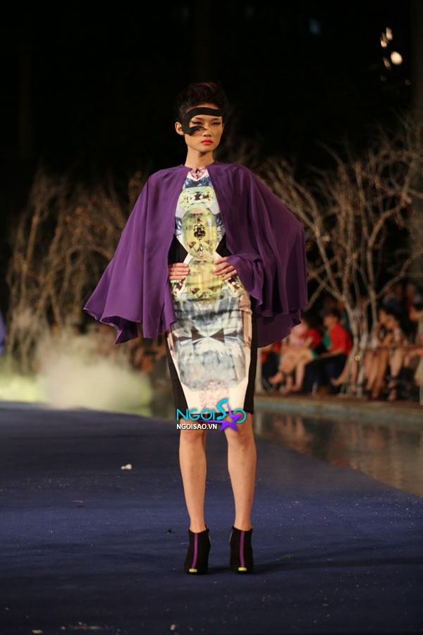 Hoa hậu Thùy Dung, Diễm Hương quyến rũ trong trang phục màu sắc 13