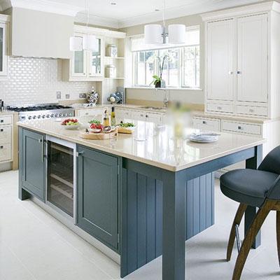 Nhà bếp trang nhã với sắc màu kem 2