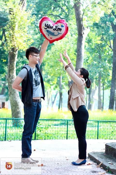 Chuyện tình đặc biệt của chàng 1m88 và nàng 1m52 tại Hà Nội 4