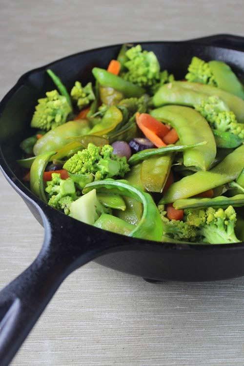 Ngon cơm với rau xào thập cẩm mùa đông 4