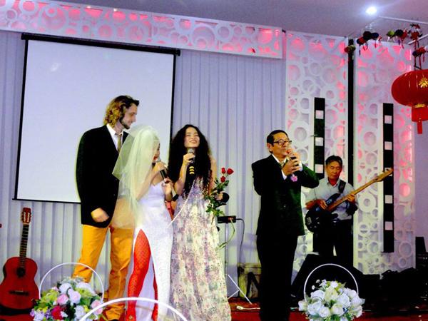 Mai Khôi rạng ngời trong ngày cưới 1