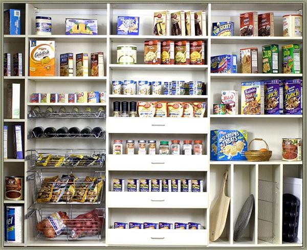 Mẹo sắp xếp tủ lưu trữ thực phẩm ngăn nắp đón Tết 1