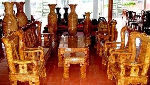Những 'cục gỗ' tiền tỷ của đại gia Việt 6