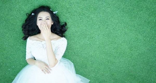 Hé lộ ảnh cưới tuyệt đẹp của Á hậu Thùy Trang 5