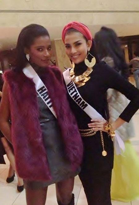 Trương Thị May bị cảm lạnh và sốt cao tại Miss Universe 8