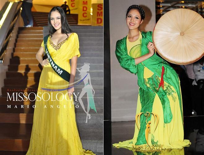 Những sự cố đáng tiếc của các người đẹp Việt trên đấu trường quốc tế 2