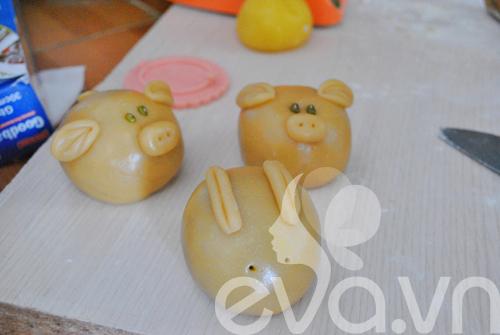 Công thức đơn giản tự làm bánh trung thu thập cẩm 9