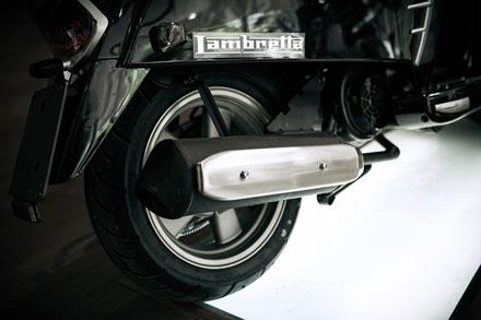 Lambretta ra mắt phiên bản mới màu đen cho năm 2013 12