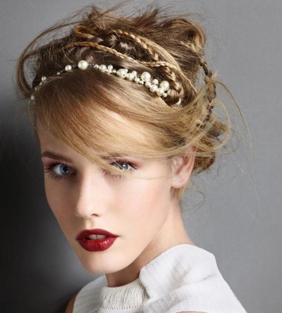 7 kiểu tóc búi, cột quyến rũ cho mùa Hè 2013 6