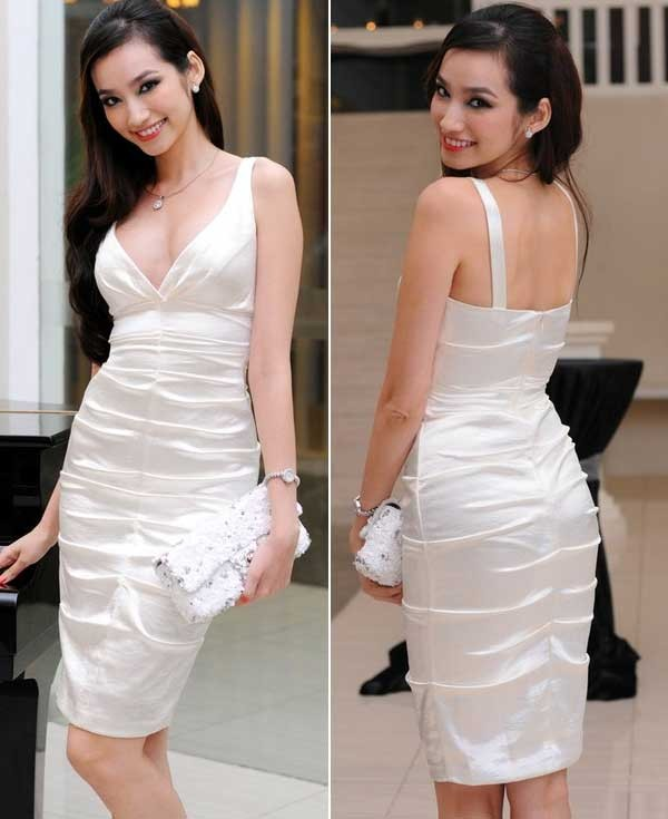 Phong cách thời trang đẹp mỹ miều của Trúc Diễm 4