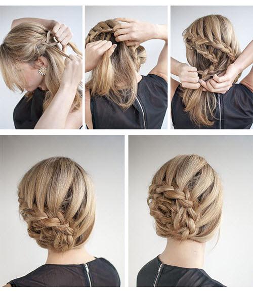Những kiểu tóc búi đơn giản nhưng đẹp đến lạ kì 7