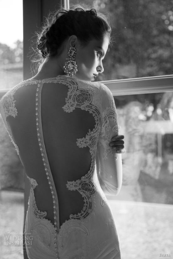 Những mẫu váy cưới dài tay đẹp đến khó tin 8