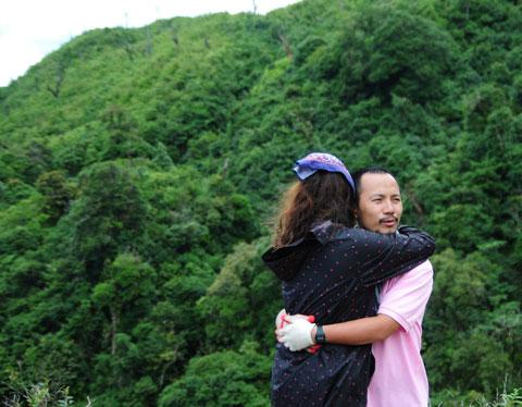 Thí sinh 'Cuộc đua kỳ thú' mếu máo trên đỉnh Fansipan 7