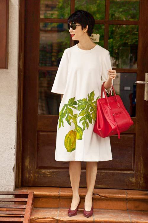 Soi thời trang hàng hiệu trong tháng của sao Việt 4