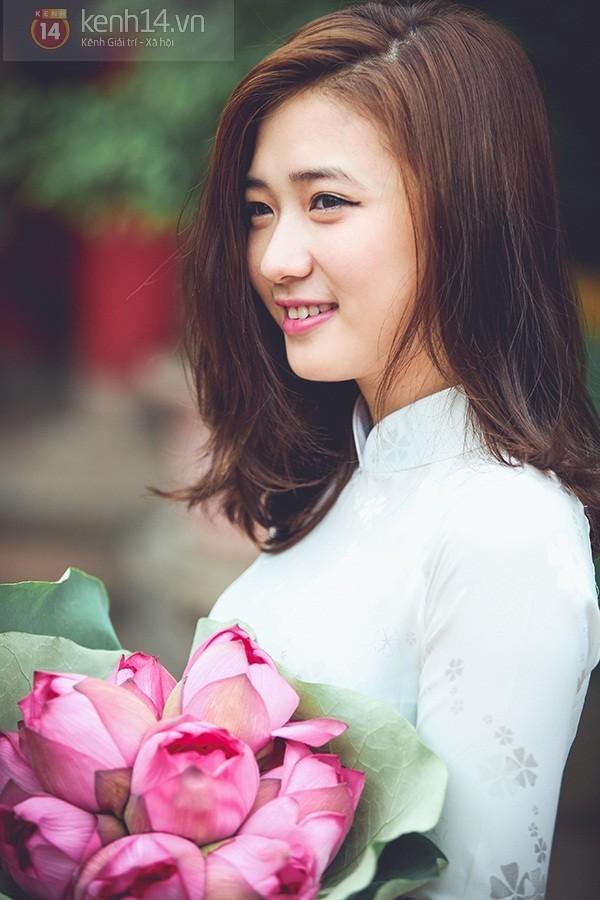 Những hot girl Việt có gương mặt đẹp không tì vết 8
