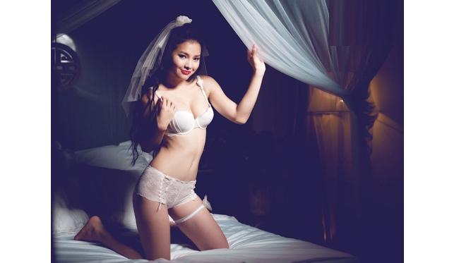 15 mỹ nhân Việt mặc nội y cưới đẹp nhất! 9