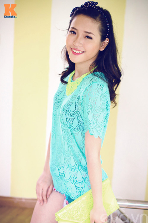 Một chiếc áo ren - 4 phong cách thời trang 11