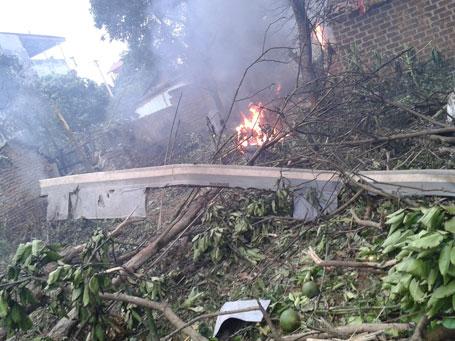 Nguyên nhân vụ tai nạn máy bay ở Hòa Lạc 1