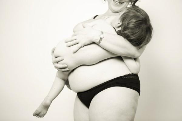 Những hình ảnh thật đến từng cen-ti-mét về cơ thể phụ nữ sau sinh 6