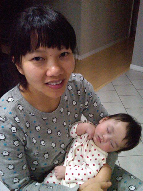 Con gái Trần Thu Hà vô cùng dễ thương 2