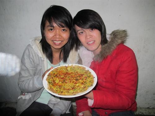 """Bánh tráng trứng nướng - """"Pizza Đà Lạt"""" 5"""