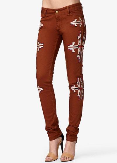 """6 mẫu quần jeans """"hot"""" mùa thu 6"""