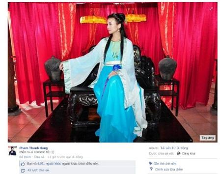 Fan phát sốt vì Thanh Hằng rò rỉ vai diễn mới 1