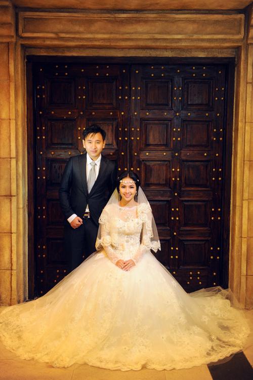 Chiêm ngưỡng váy cưới 1.400 USD của Miss Kim Phượng 6