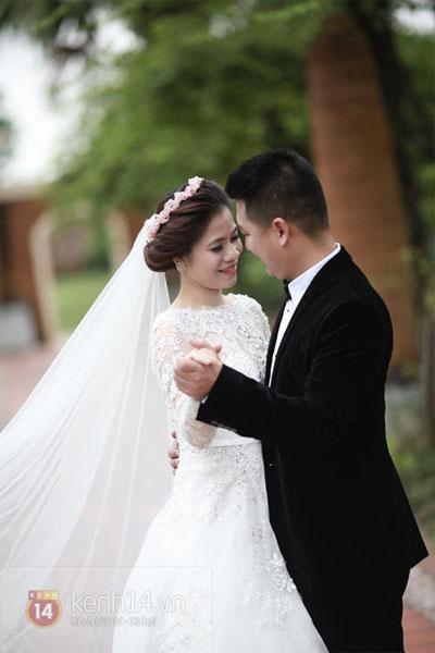 Mỹ Dung khoe ảnh cưới đẹp lung linh 5