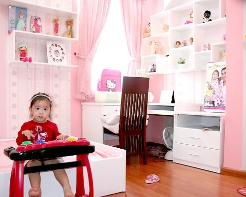 Khám phá phòng riêng của 'công chúa - hoàng tử' nhà sao Việt 18