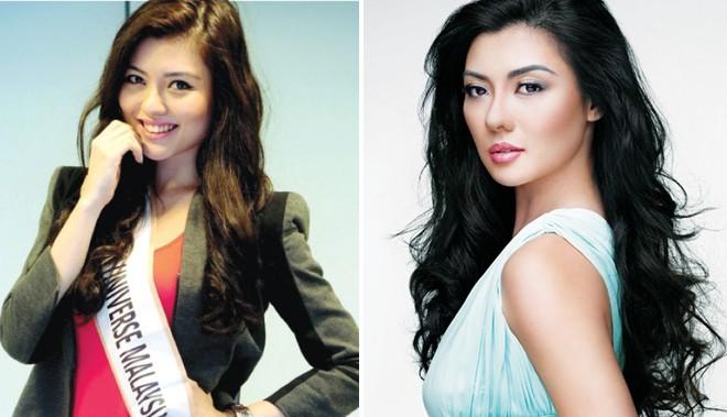 Đọ nhan sắc Trương Thị May và các Hoa hậu Hoàn vũ châu Á 7