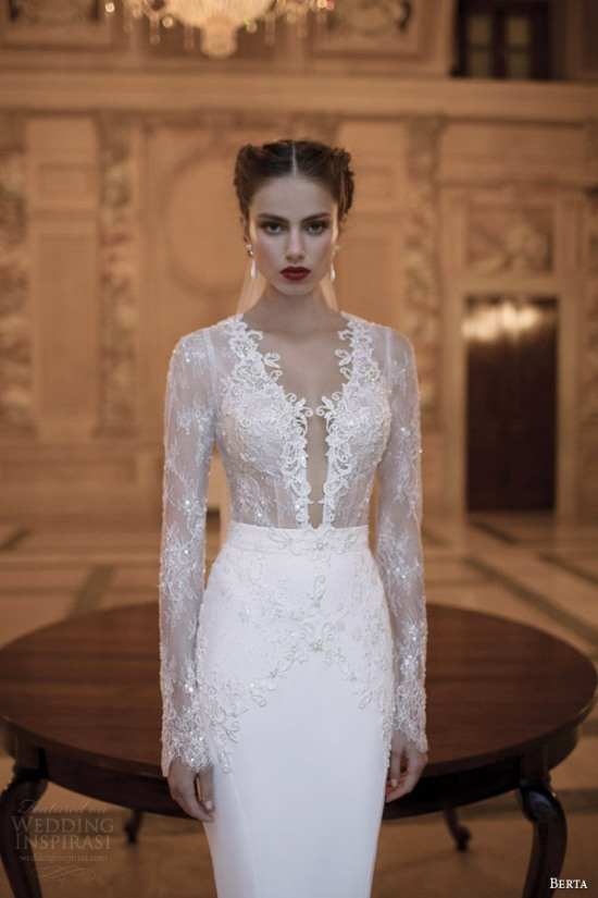 Những mẫu váy cưới dài tay đẹp đến khó tin 11