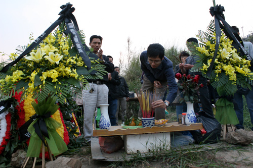 Đám tang không thi thể của nạn nhân vụ Cát Tường 8