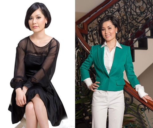 Các bà vợ ăn mặc quê mùa của sao nam Việt 1