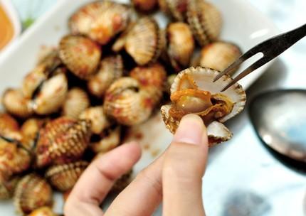 Khám phá hải sản kiểu ngư dân Bình Ba tại Hà Nội 2