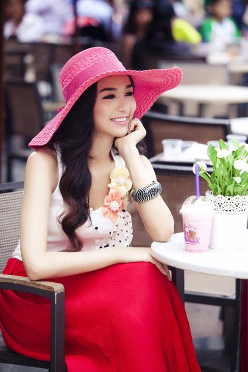 Cùng sao Việt chọn mũ cho chuyến du lịch hè 7