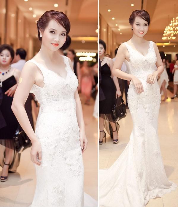 Kiều nữ Việt đẹp mong manh váy trắng 6