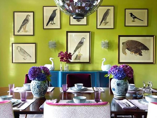 """Những cặp màu hoàn hảo cho căn nhà """"có gu"""" 1"""
