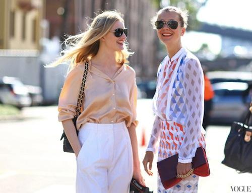 Phối đồ nổi bật cùng 4 kiểu quần trắng phổ biến cho nàng công sở 9