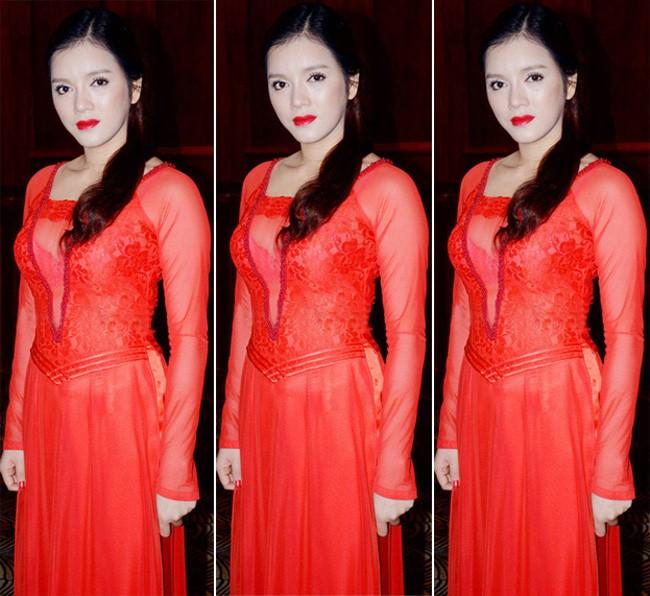 Những bộ áo dài cách tân phản cảm khiến sao Việt bị 'ném đá' 2