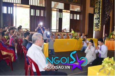 Lễ cưới theo nghi thức Phật giáo của ca sỹ Mỹ Dung 9