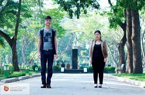Chuyện tình đặc biệt của chàng 1m88 và nàng 1m52 tại Hà Nội 6